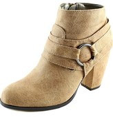 Michael Antonio Martina Women Round Toe Synthetic Tan Ankle Boot.