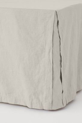 H&M Washed linen valance