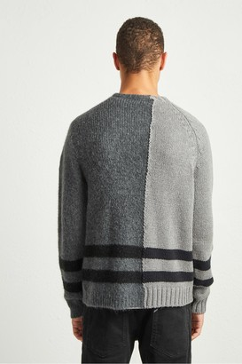 French Connection Supersoft Mohair Hybrid Split Jumper