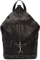 Jimmy Choo Black Star Fitzroy Backpack
