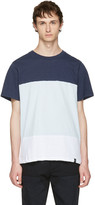 Rag & Bone Blue and White Precision T-shirt
