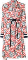 Michel Klein 'Dufy' print shirt dress - women - Silk - 36