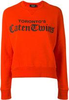 DSQUARED2 Anita sweatshirt - women - Cotton - XS