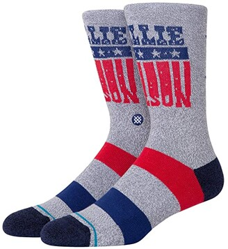 Stance Willie Nelson Stars Crew (Off-White) Crew Cut Socks Shoes