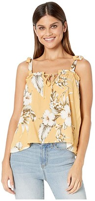 Rip Curl Island Time Cami (Mustard) Women's Clothing