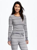Old Navy Thermal Patterned Tee for Women