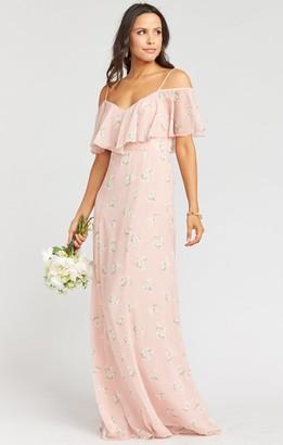 Show Me Your Mumu Renee Ruffle Maxi Dress
