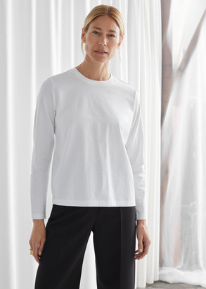 And other stories Organic Cotton Long Sleeve T-Shirt
