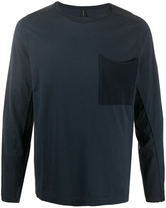 Transit Long-Sleeve Fitted Top