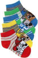 Nickelodeon Boys Paw Patrol Boys No Show Socks - 5 Pack