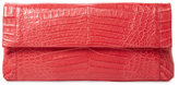 Nancy Gonzalez Gotham Large Crocodile Clutch