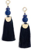 Nectar Nectar Lapiz Lazuli Tassel Earrings