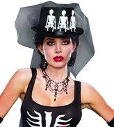 Dreamgirl Women's Spooky Ms. Bones Gothic Costume Accessory