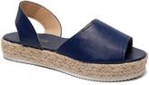 Paotmbu PAOTMBU Women's Sandals BLUE - Blue Espadrille Sandal - Women