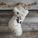 Pottery Barn Teen Pony Faux-Fur Stocking
