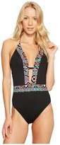 LaBlanca La Blanca - La Azteca Plunge One-Piece Women's Swimsuits One Piece