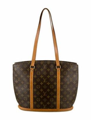 Louis Vuitton Monogram Babylone Tote Brown
