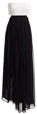 Cinq à Sept Women's Aries Cutout Chiffon Gown - Size 0