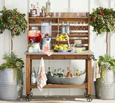 Pottery Barn Abbott Island Buffet Hutch