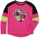Puma Long-Sleeve Top - Preschool Girls 4-6x