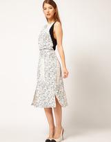 Rachel Comey Orson Dress in Grid Print