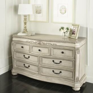 Kingsley Wessex 7 Drawer Double Dresser