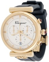 Salvatore Ferragamo Watches Ora rubber-strap watch