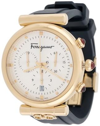 Salvatore Ferragamo Watches Ora rubber-strap watch