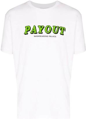 Nasaseasons Payout Logo T-shirt White