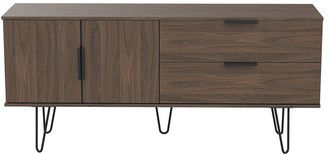 Swift Tokyo Low Sideboard/TV Unit - Fits up to 42 inch TV - Walnut Effect