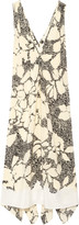 By Malene Birger Quinesa printed silk-crepe dress