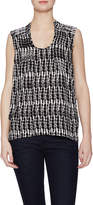 Plenty by Tracy Reese Women's Split Back Sleeveless Top