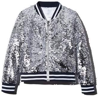 Rockets of Awesome Sequin Bomber Jacket