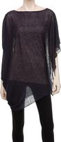 Max Studio Draped Sweater