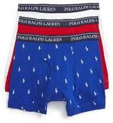 Polo Ralph Lauren Men's 3-Pack Cotton Boxer Briefs