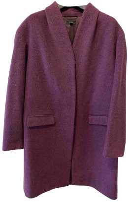 Cos \N Burgundy Coat for Women