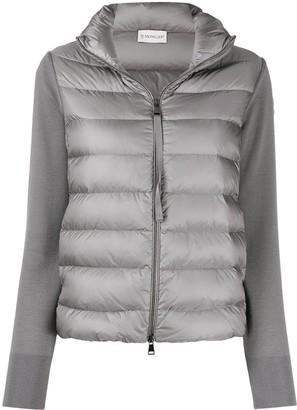 Moncler High-Neck Puffer Jacket