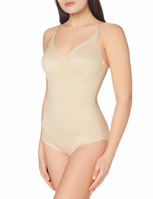 Miraclesuit Women's Body gainant Confort cuisse-Smooth Molded Cup BodyBriefer Wonderful Edge Bodysuit