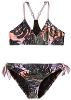 Hurley Sunset Palms Halter Top & Retro Bottom (Big Kids)