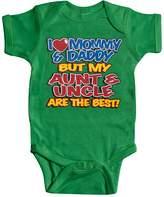 "Baby ""Aunt& Uncle"" Onesie - 6M"