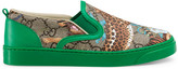 Gucci Toddler GG felines sneaker