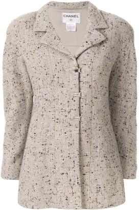 Chanel Pre Owned 1999 Tweed Jacket