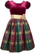 Bonnie Jean Girls Plaid Holiday Dress