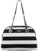 Kate Spade Striped Jersey Shoulder Bag