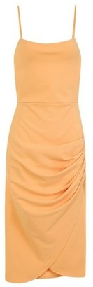 Dorothy Perkins Womens Girls On Film Orange Creoe Bodycon Dress, Orange