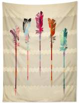 Deny Designs Iveta Abolina Feathered Arrows Tapestry