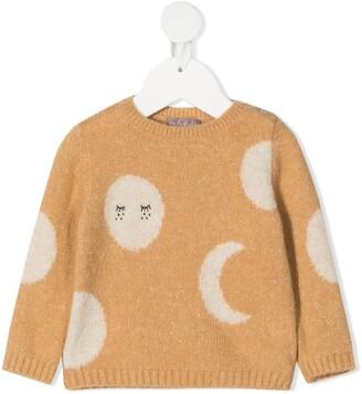 Emile et Ida Moon Knit Jumper