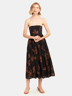 Free People Baja Babe Strapless Midi Dress