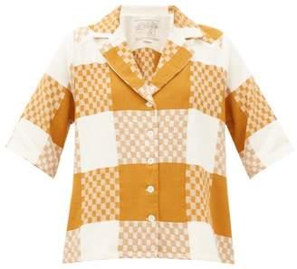 Ace&Jig Etta Checked Cotton Shirt - Womens - Beige Multi