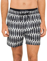 Calvin Klein Core Novelty Medium Double Waistband Swim Short
